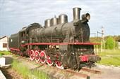 паровоз на вокзале Углича