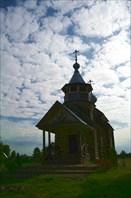 церковь Кассианова пустынь на берегу Волги