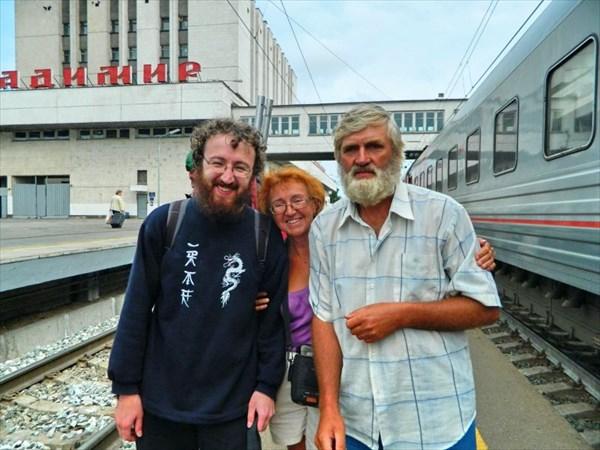 Встреча с сыном Артемом во Владимире.