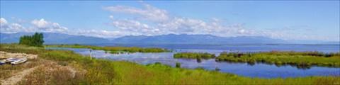 Ангарский Сор. Вид с острова Миллионный