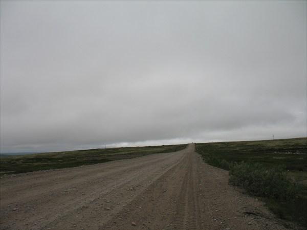 Дорога на Териберку
