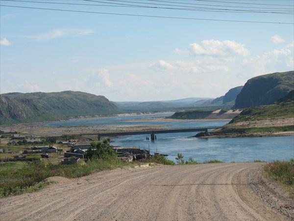 Мост через Териберку