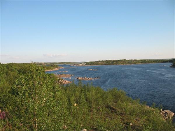 Серебрянское водохранилище)