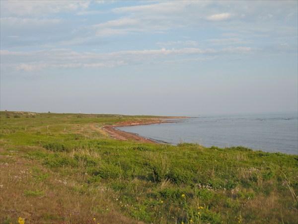 Терский берег в сторону Кузоменя