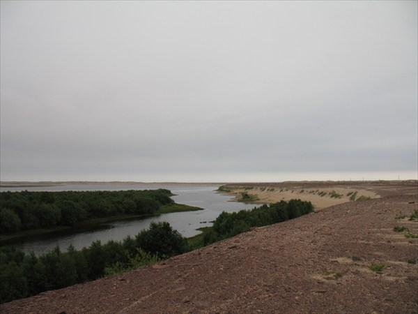 Устье реки Варзуга