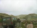 К перевалу через хребет Муста-Тунтури