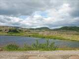 Вид на хребет Муста-Тунтури