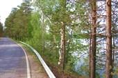насыпная дорога