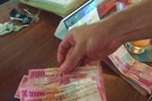 В Индонезии каждый приезжий сразу становится миллионером:)))
