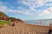 Пляж в районе Семиньяка