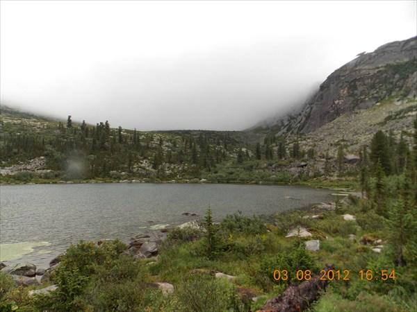 Вид с озера Радужное