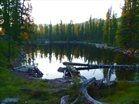 В краю озер и скал. Автор: Наталья Николаева