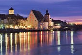 Старый город в Регенсбурге