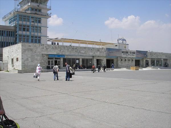 на фото: Кабульский аэропорт.