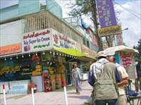 В центре Кабула.