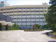 """Отель """"Интерконтиненталь"""" в котором мы жили."""