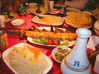 Национальные афганские блюда.