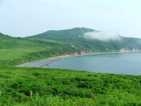 Остров Рикорда. Бухта Восточная