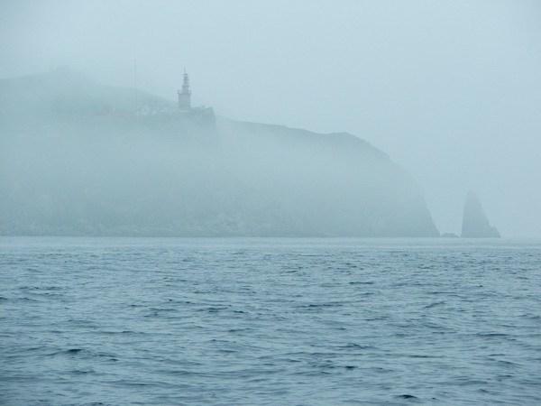Ежик в тумане. Мыс Сысоева