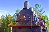 Даже в Петрозаводске есть паровозы из Брянска