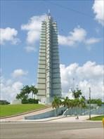 Площадь революции в Гаване мемориал Хосе Марти