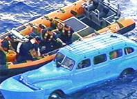 Июнь 2006 г. Семья из 6 чел. поймана у берегов США