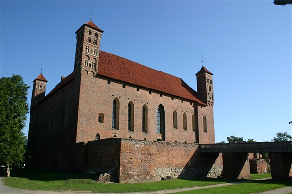 замок Лидзбарк-Вармински