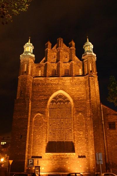 Гданьск ночной