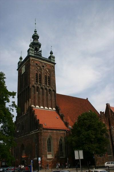 Собор Святой Катарины в Гданьске