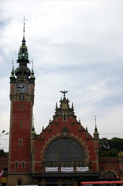 вокзал в Гданьске