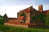 Знаменитый рыцарский замок Мальборк