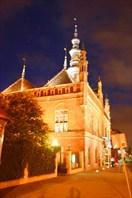 собор Св. Катарины в Гданьске ночью