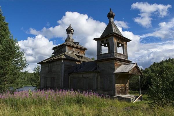Церковь Илии Пророка. Ведягино.