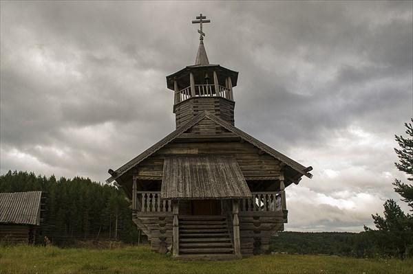 Часовня апостола Иоанна Богослова.