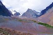 Марена перед ледником Малый Актру