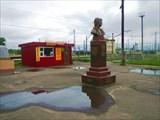 Памятник Высоцкому. Бологое. Вокзал