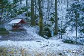 Мой первый снег в Японии