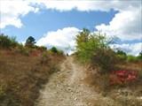 Подъем по старой римской дороге к г.Тепе-Оба