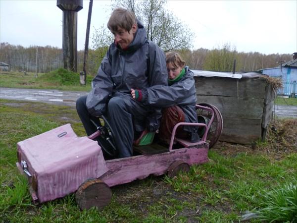 Детство в деревне)