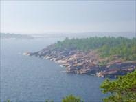 Посёлок Импилахти. Ладожское озеро. Республика Карелия.