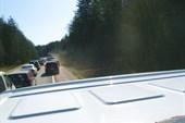 Пробки на Егорьевском шоссе после 8 утра.