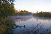 Туман над Прой. 6 часов утра.