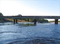 Мост Заводской Слободы после прохождения.