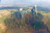 Средневековая крепость Троски