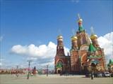 Площадь Республики. Пресвятой Девы Марии