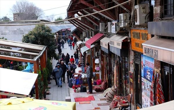 Рынок за мечетью Султанахмет