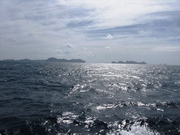 поездка на острова Пи-Пи. Андаманское море