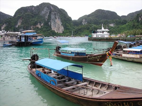 Остров Пи-Пи дон (Phi Phi Don) Южный пляж - Тонсаи