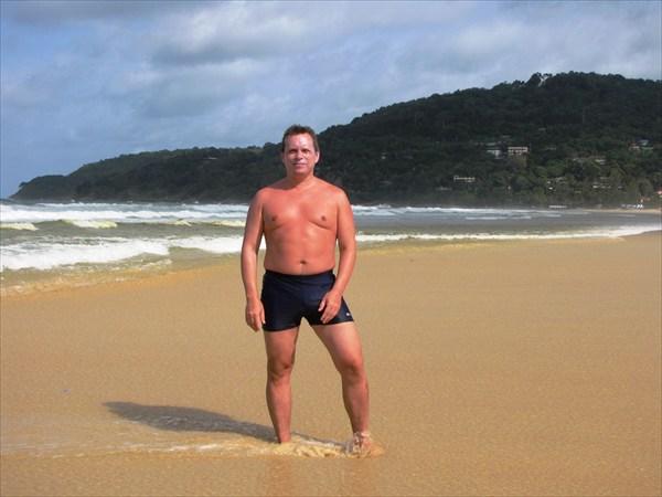 о. Пхукет. Вид на пляж Карон (Karon beach).
