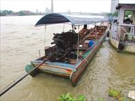 Бангкок. река Чаупхрая